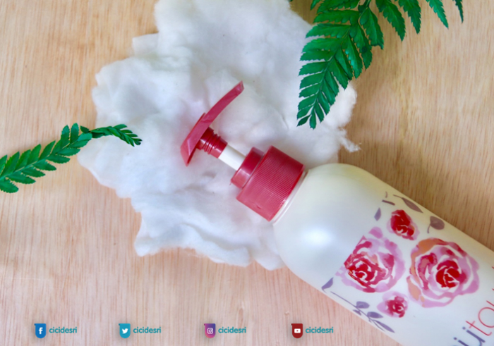 gambar review ke-1 untuk Mutouch Daily Skin Protection Body lotion with Redsnow