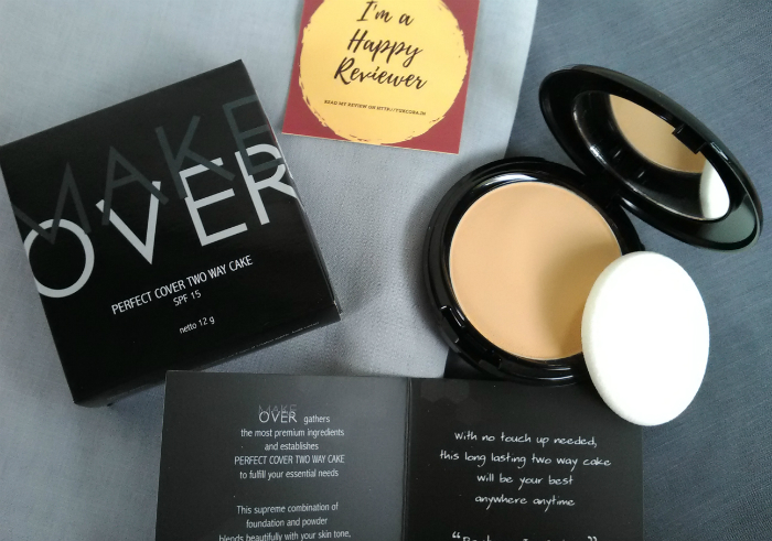 gambar review ke-1 untuk Make Over Perfect Cover Two Way Cake Desert