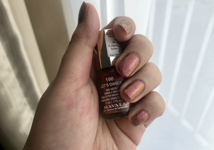 image review Mavala Nail Polish Lets Dance