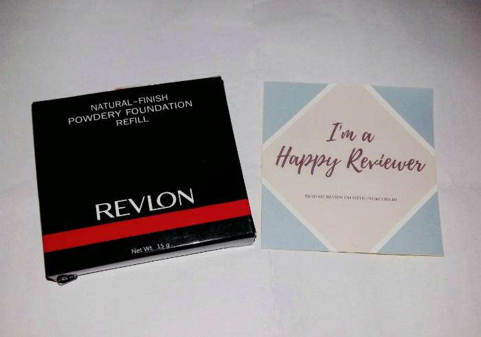 gambar review ke-1 untuk Revlon Powdery Foundation Refill