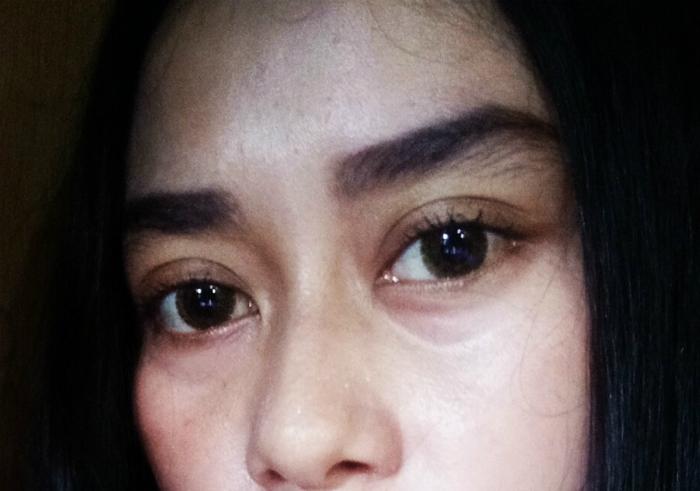 gambar review ke-1 untuk QL Eyebrow Cream