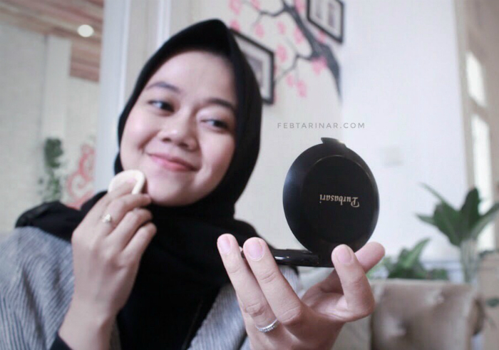 image review Purbasari Oil Control Matte Powder