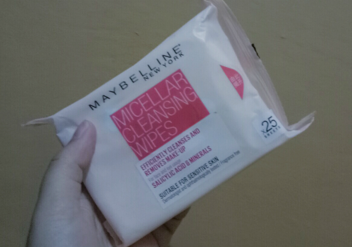 image review Maybelline Micellar Cleansing Wipes