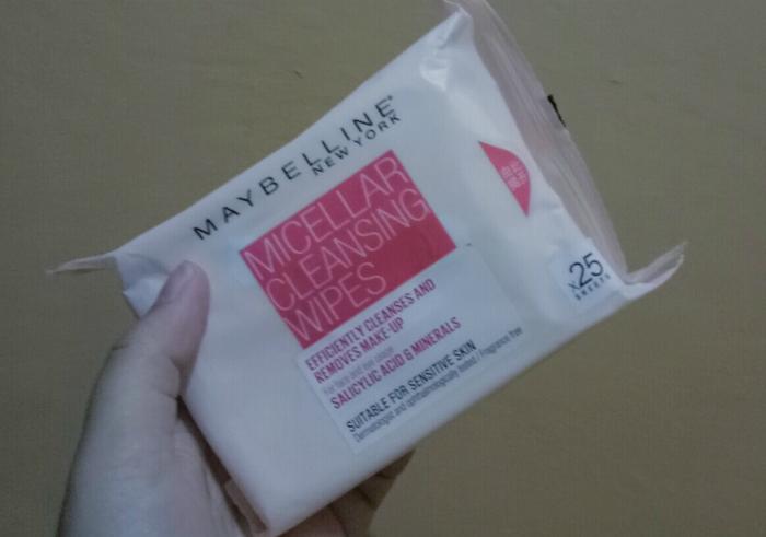 gambar review ke-1 untuk Maybelline Micellar Cleansing Wipes