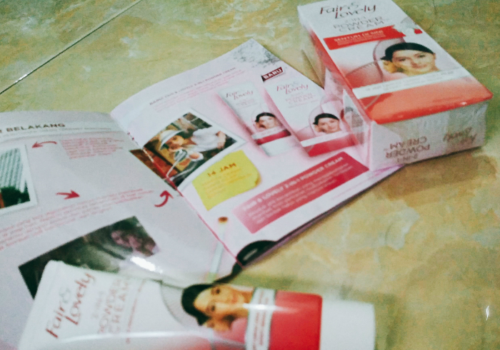 gambar review ke-3 untuk Fair & Lovely 2 in 1 Powder Cream