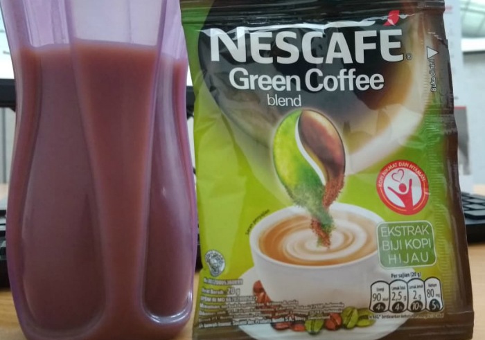 image review Nescafe Green Coffee Blend