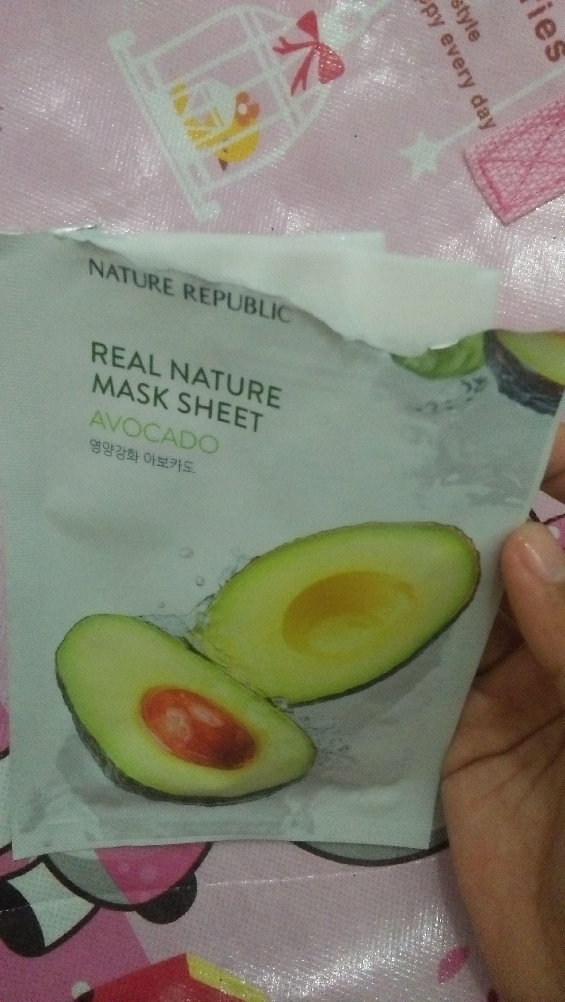 gambar review ke-2 untuk Nature Republic Mask