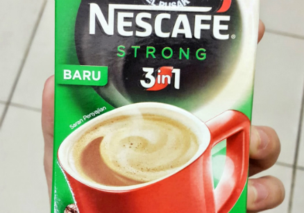 image review Nescafe 3in1 Strong
