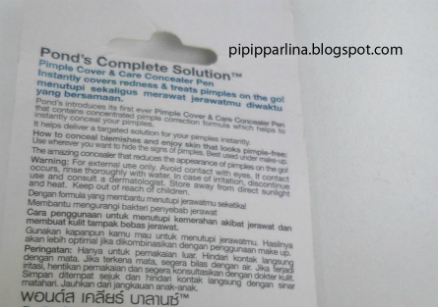 gambar review ke-3 untuk Pond's Complete Solution Pimple Cover & Care Concealer Pen