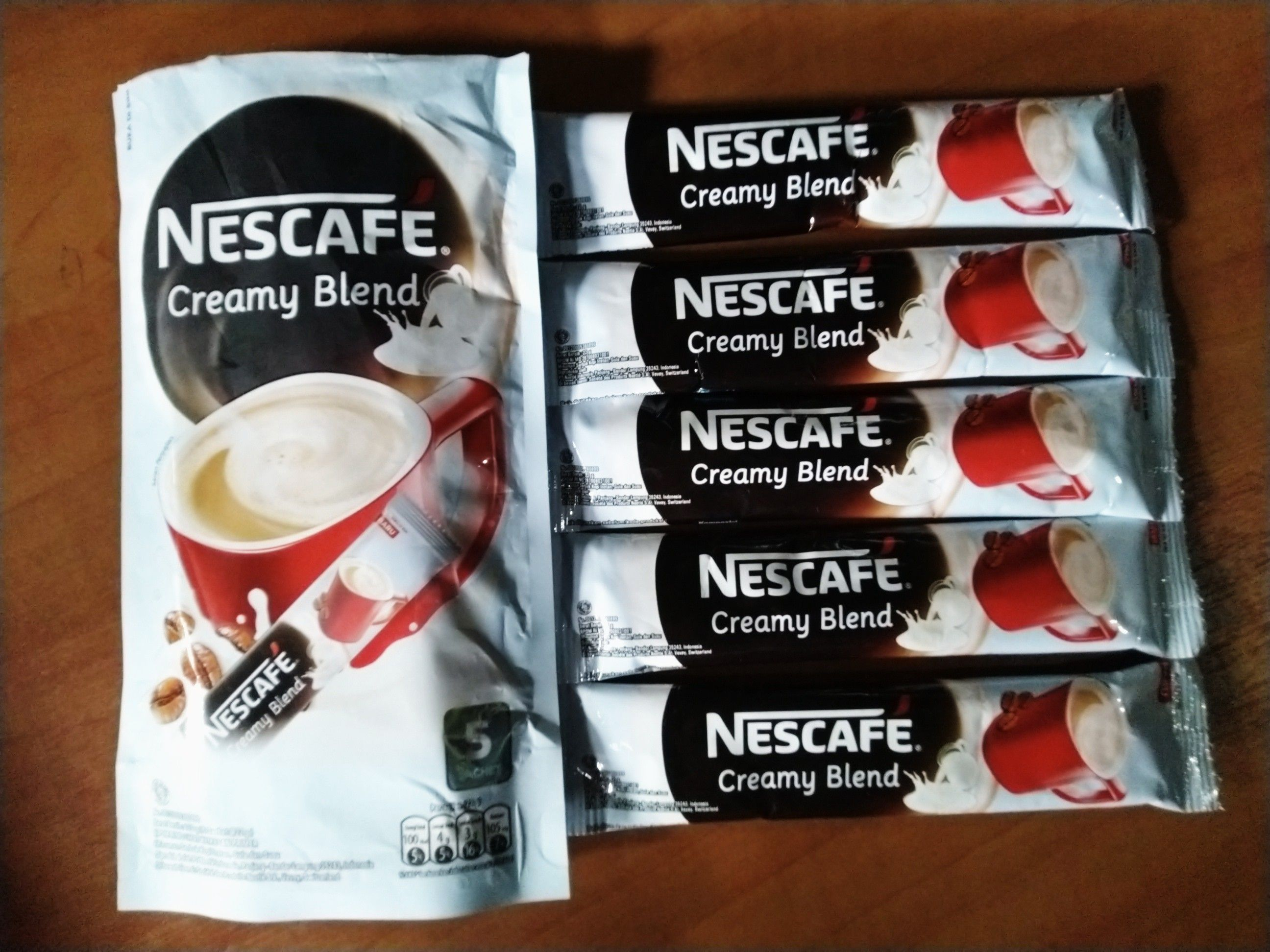 image review Nescafe Creamy Blend