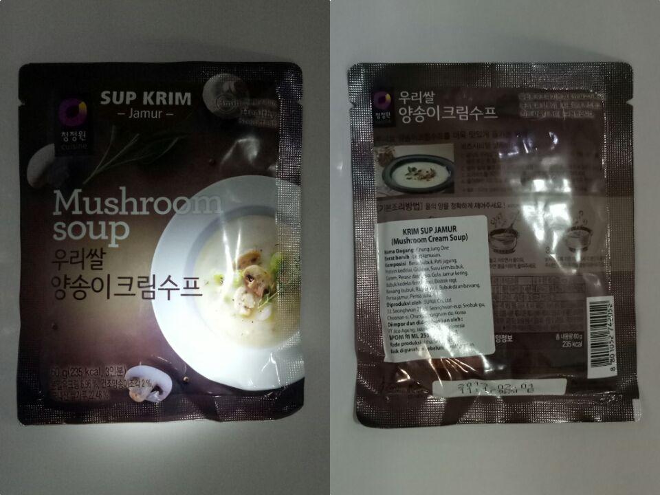 gambar review ke-5 untuk Daesang Korean Mushroom Soup